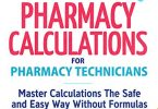 Pharmacy Calculations for Pharmacy Technicians PDF