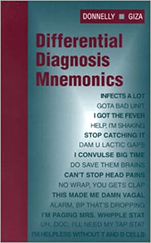 Differential Diagnosis Mnemonics 1st Edition PDF