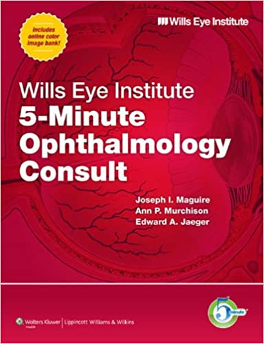 Wills Eye Institute 5-Minute Ophthalmology Consult PDF